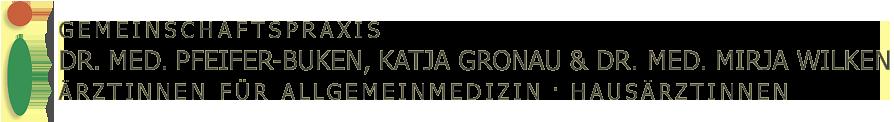 Praxis Dr. med. Anette Pfeifer-Buken, Katja Gronau & Dr. med. Mirja Wilken Logo